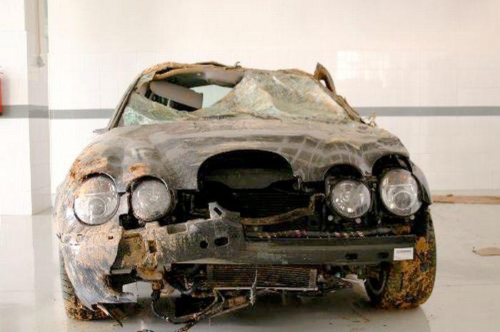 Суперкары после аварий, в которых никто не пострадал