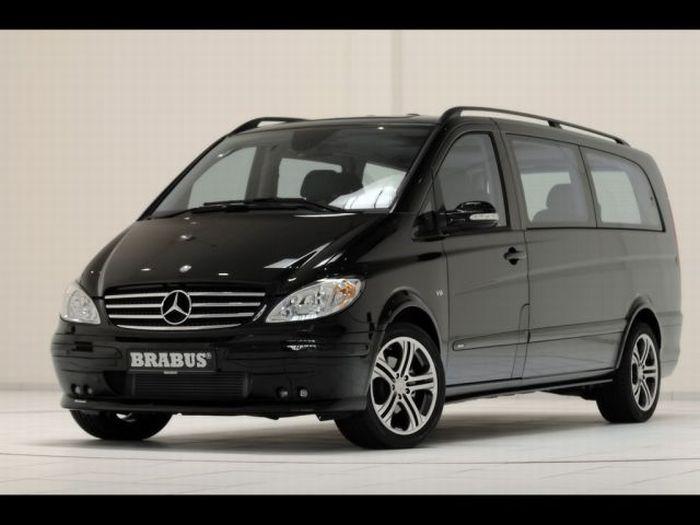 Офис на колесах - Brabus Mercedes-Benz Viano Lounge (18 фото)