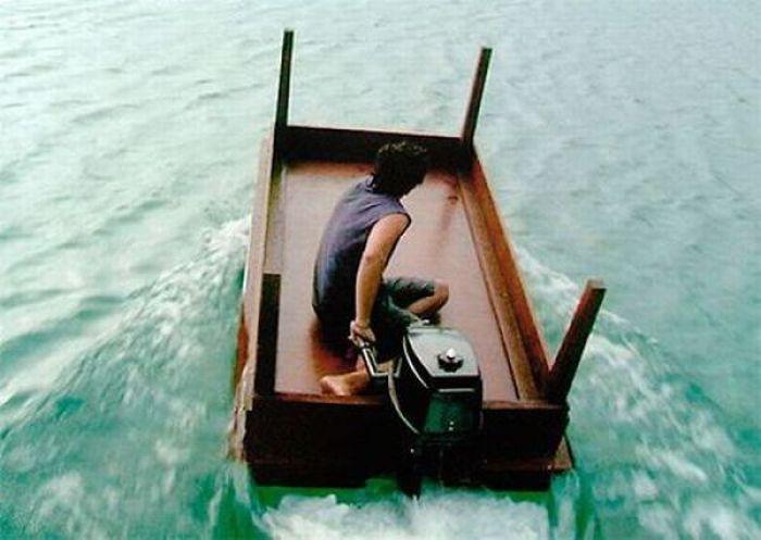 Смешные картинки лодки