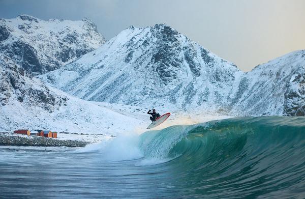 Морозные пейзажи (6 фото)