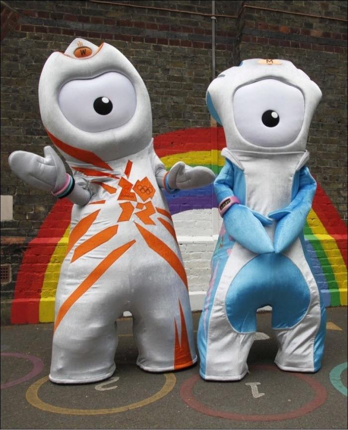 талисман летных олимпийских игр