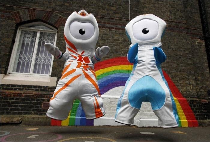 Талисманы Олимпийских игр 2012 года в Лондоне (7 фото)