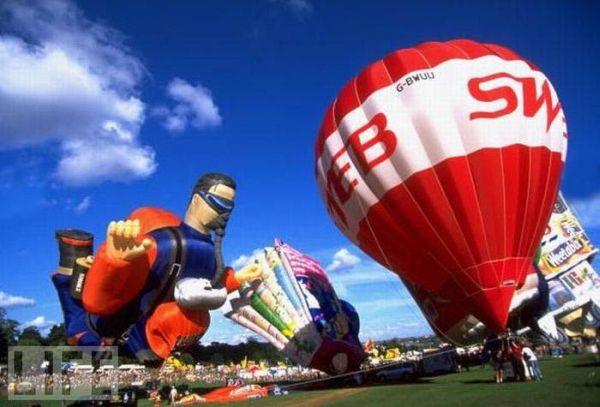 Красивые воздушные шары (24 фото)