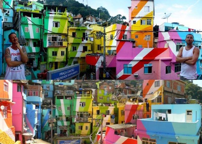 Живописный райончик Санта Марта (11 фото)