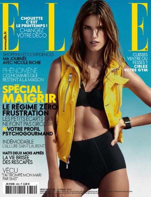 Алессандра Амбросио для журнала Elle (32 фото)
