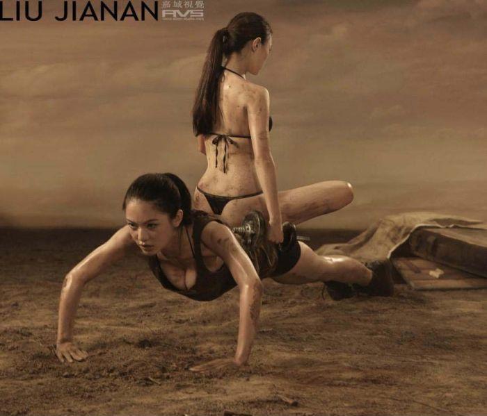 Девушки занимающиеся спортом (20 фото)