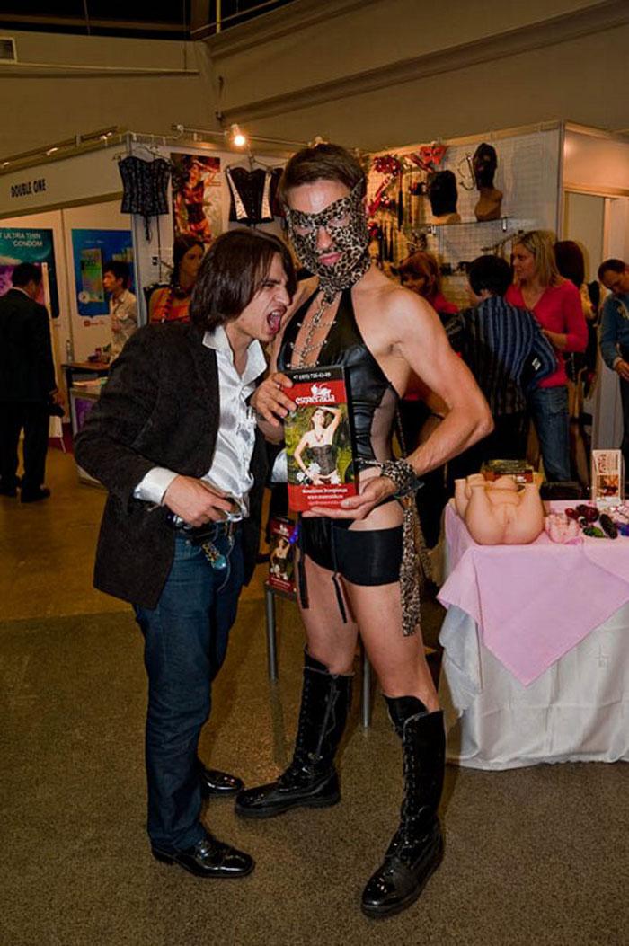 Мексиканская выставка порно и секса (6 фото + текст).