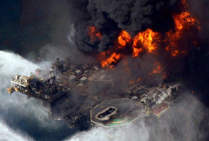 Разлив нефти в Мексиканском заливе (31 фото)