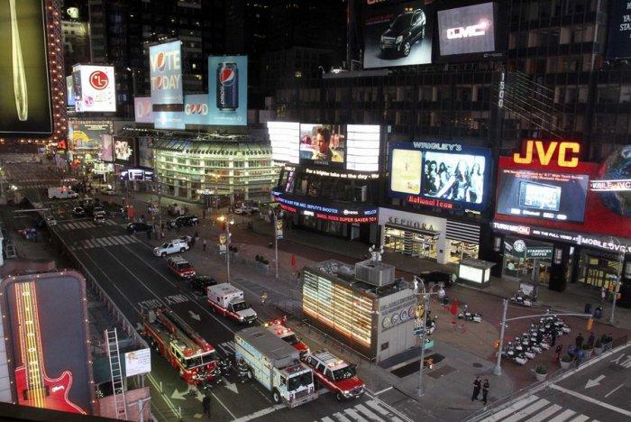 Попытка теракта на Таймс-сквер в Нью-Йорке