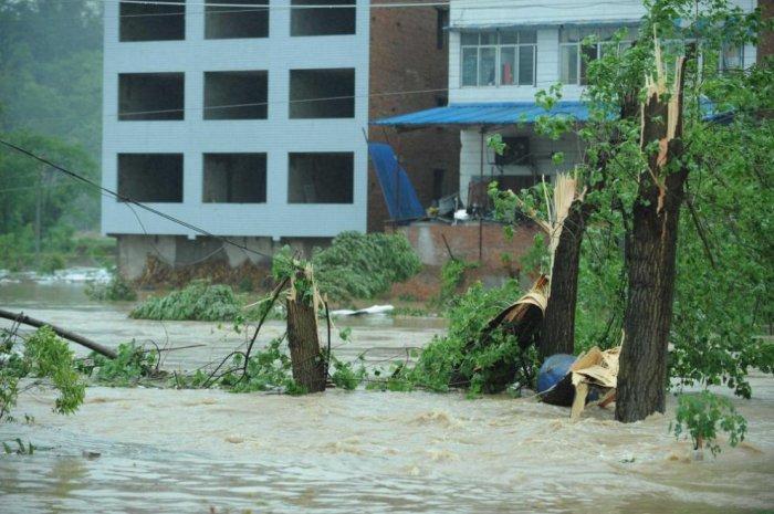 Cильнейший ураган в Китае