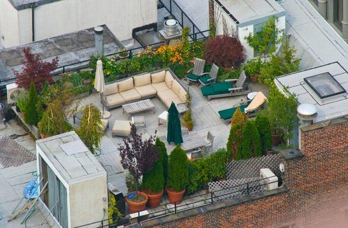 Оригинальные крыши домов (20 фото)