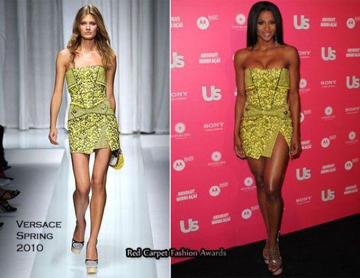 Сравним одежду на моделях и звездах (52 фото)