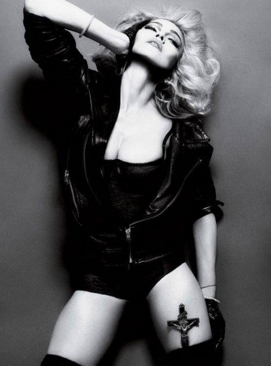 Фотоссесия 50-летней Мадонны (Madonna) для Interview