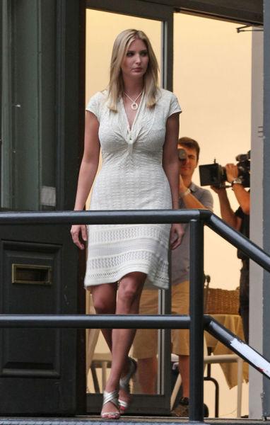 Иванка Трамп, дочь известного миллиардера (6 фото)
