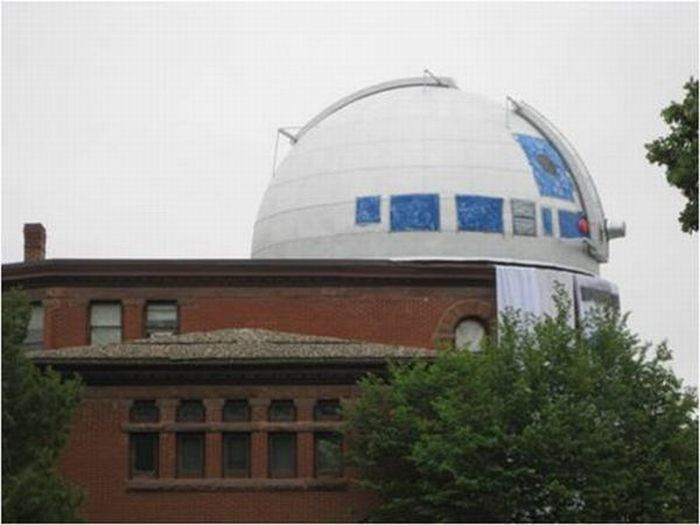 Обсерваторию превратили в гигантского робота (6 фото + видео)