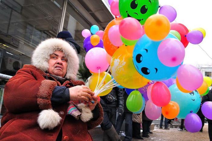 прикольная фото с шариками открылась московском музее