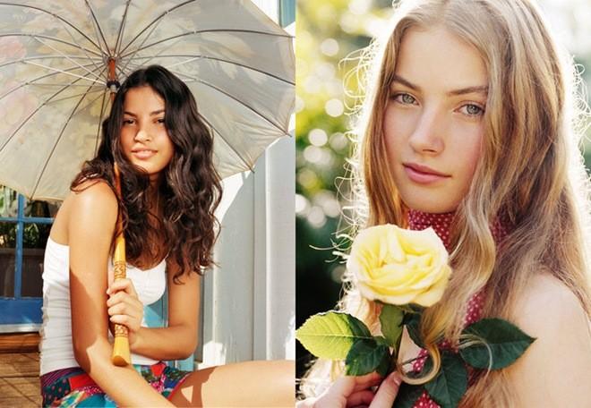 Очаровательные девушки (40 фото)