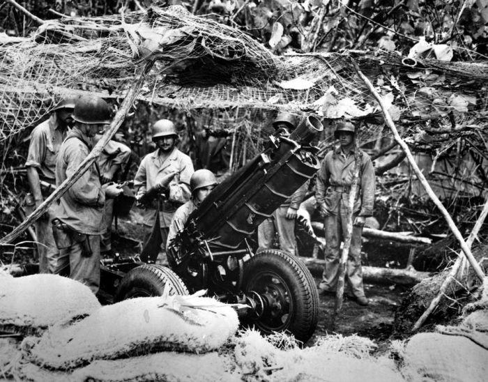 Фотографии войны в Тихом океане (105 фото)