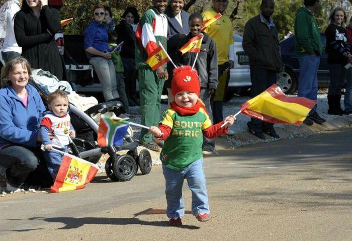 Забавные фанаты с ЧМ по футболу 2010 (45 фото)
