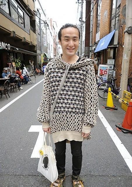 Уличная мода в Японии (38 фото)