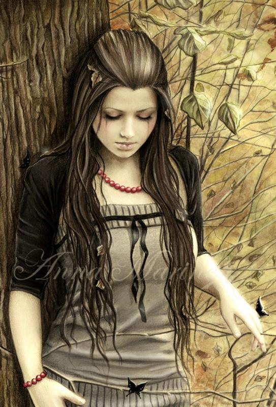 Рисунки Анны Марин