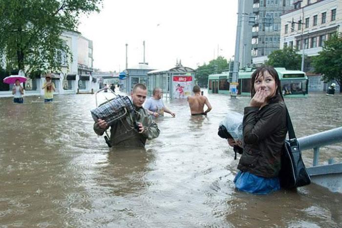 потоп в москве фото