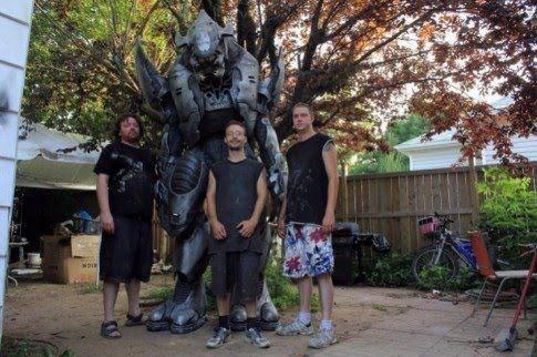Костюм монстра Halo (6 фото)