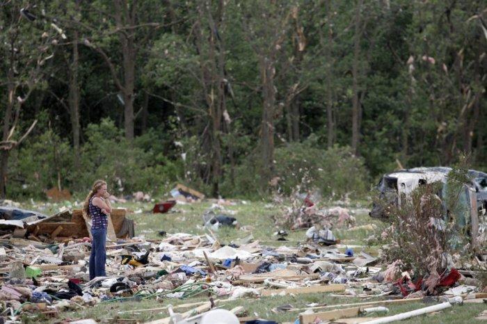 Мощные ураганы прошлись по США