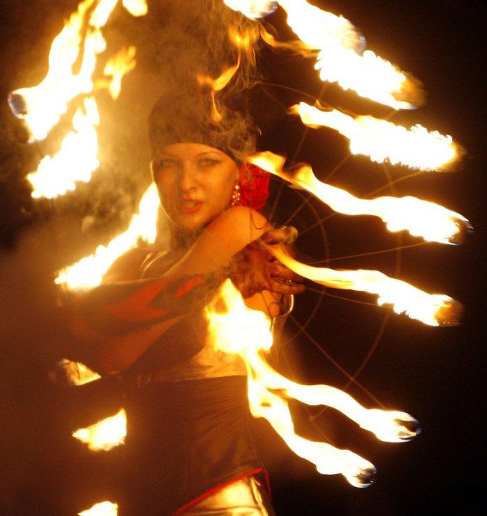 Фестиваль огня в Киеве