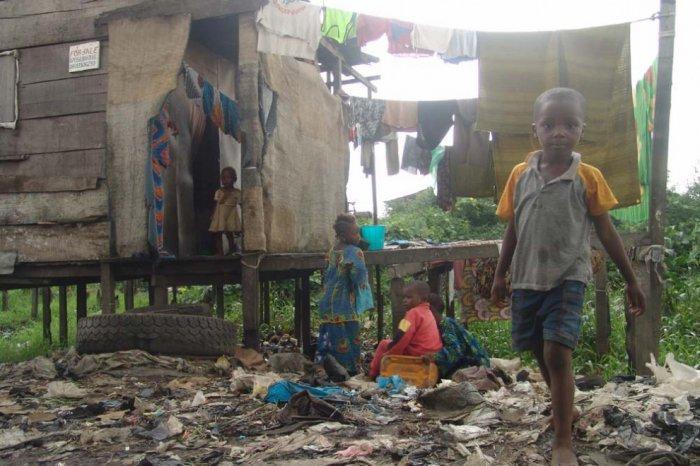 Жизнь в трущобах Нигерии