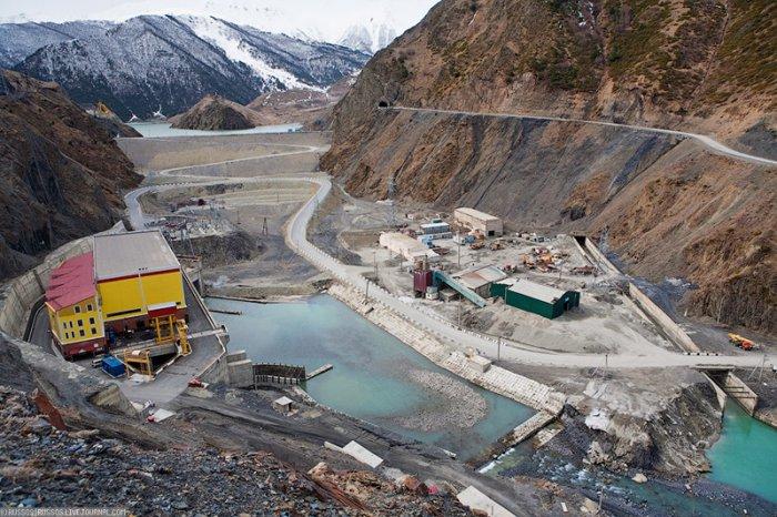 Действующие и строящиеся гидроэлектростанции на реке Ардон