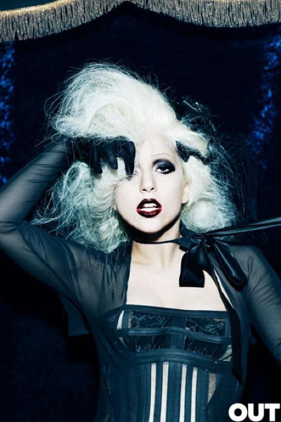 Леди Гага в журнале OUT (10 фото)