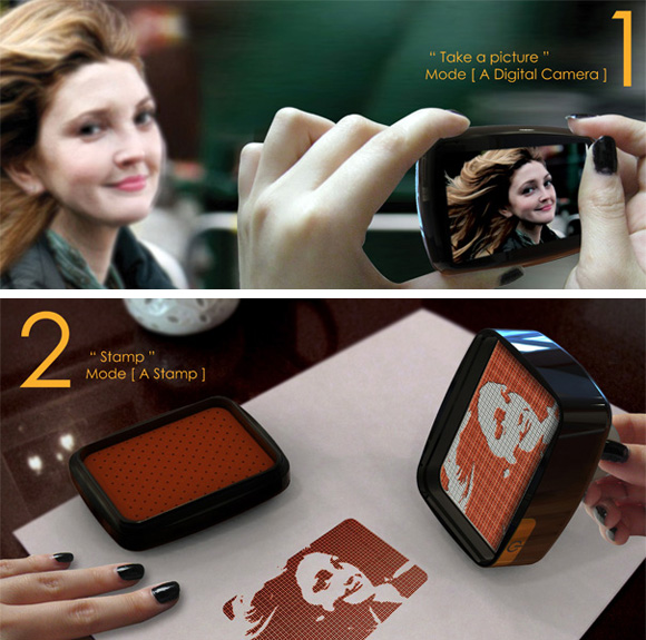 Stampy - концепт цифровой печати (2 фото)