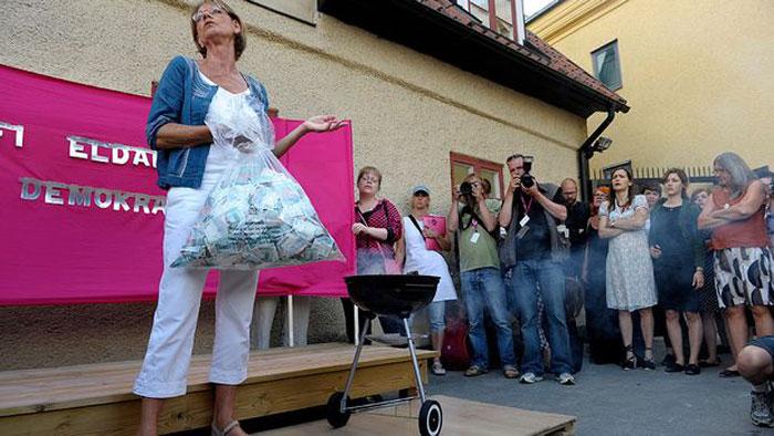 Партия феминисток Швеции