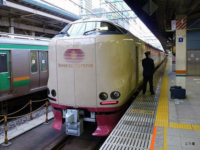 Комфорт японских поездов