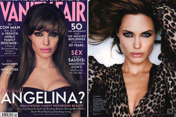 Анджелина Джоли в Vanity Fair: 'Я покидаю Голливуд' (22 фото)