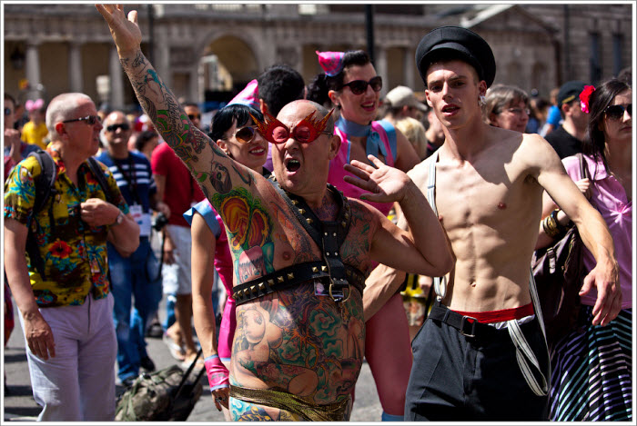 В Лондоне прошел гей-парад (74 фото)