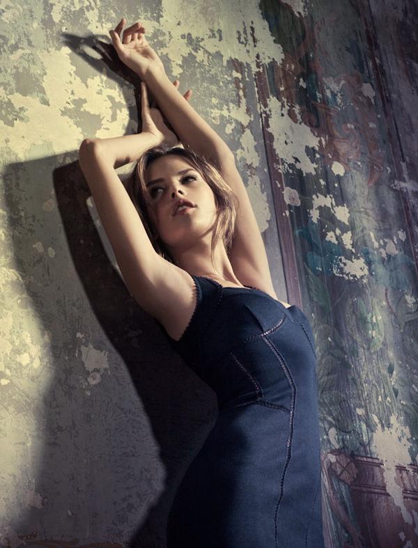 Бразильская фотомодель Алессандра Амбросио (Alessandra Ambrosio)