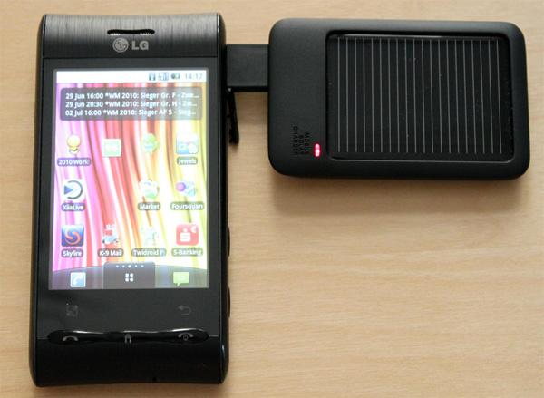 Очередное зарядное устройство на солнечных батареях (5 фото)