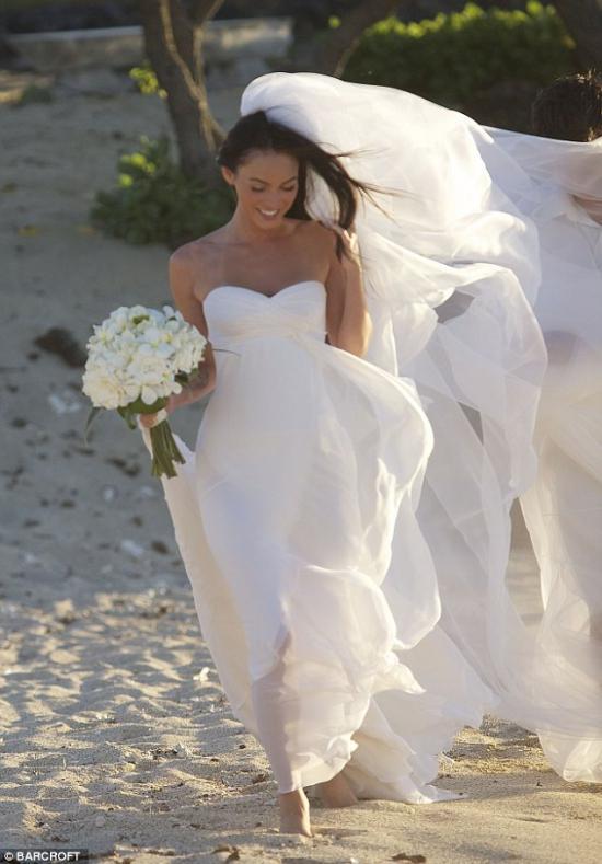 Меган Фокс вышла замуж