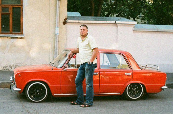 Любители советских автомобилей (6 фото)