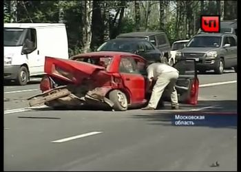 Жестокая авария в Московской области