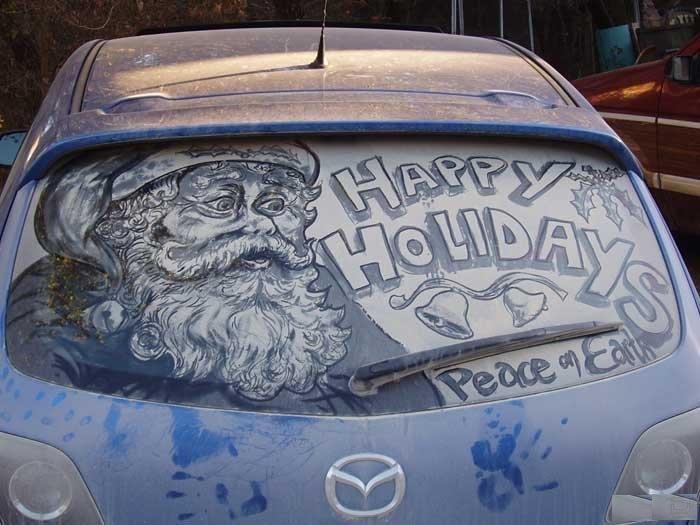 Прикольные картинки на стеклах авто, самые смешные картинки