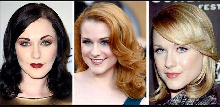 Прически разные цвета волос