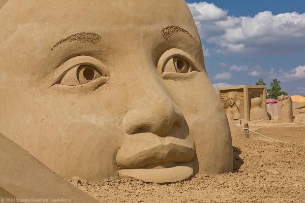 Фестиваль песчаной скульптуры в Берлине (24 фото)
