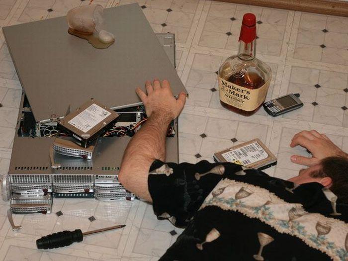 Системный администратор прикол картинки, днем рождения мужчине