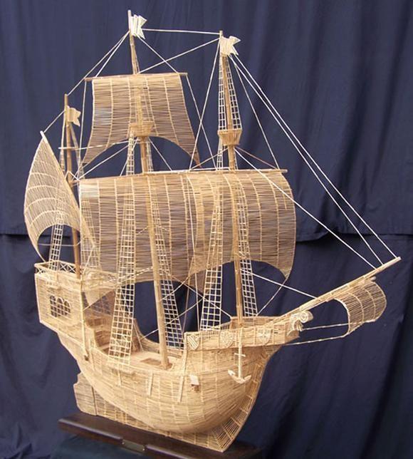 Корабли из спичек видео