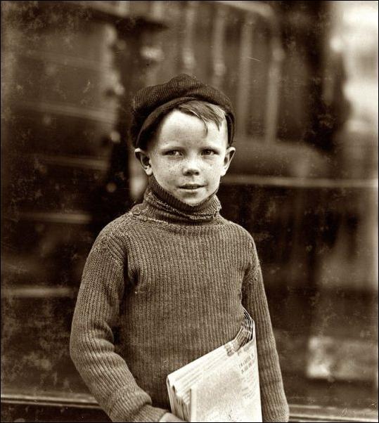 Американские дети в начале XX века (64 фото)