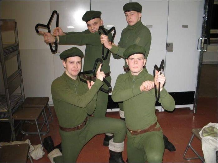 Финская армия (8 фото)