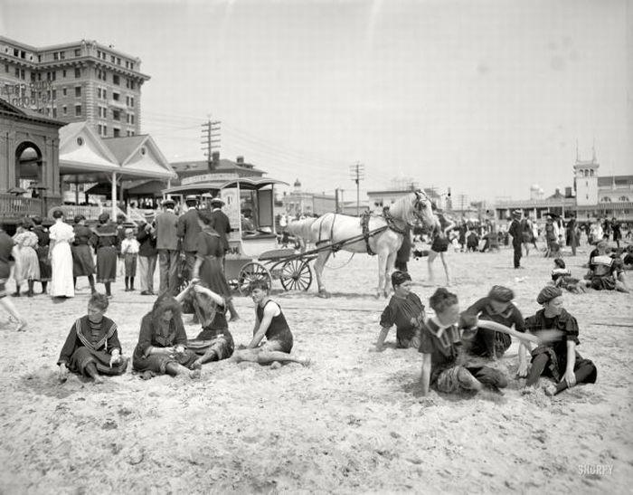 Пляжи прошлых лет (58 фото)